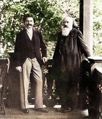 ブラームスとヨハン・シュトラウス2世