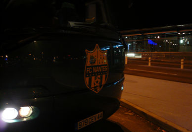 FCナントのバス