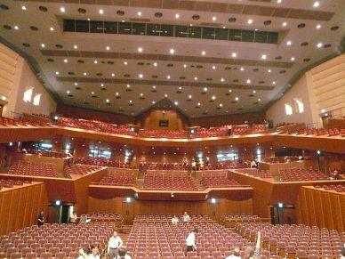 東京芸術劇場コンサートホール客席