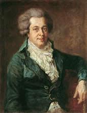 モーツァルト最後の肖像画