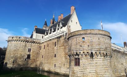 ナント ブルターニュ公爵城