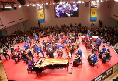 lfjk2010交流ホールでのクロージングコンサート