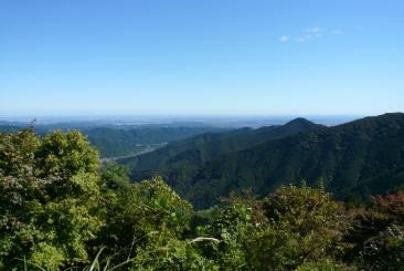 御岳山からの眺望