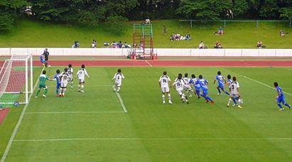 横河武蔵野FC対HOYO大分