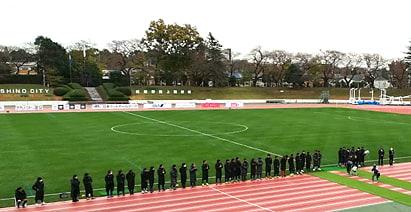 東京武蔵野FC 2020 最終戦 武蔵野陸上競技場