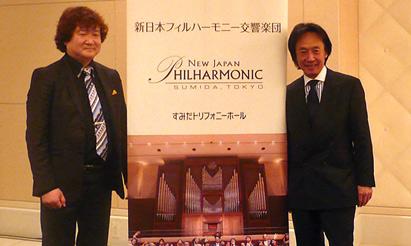 新日本フィルの次期音楽監督に上岡敏之