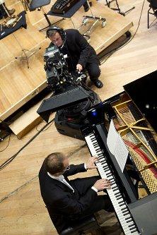 ピアニストを3Dカメラがとらえる