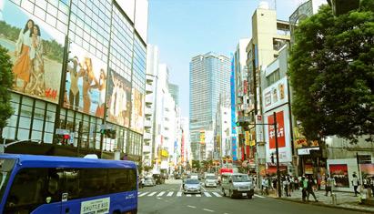渋谷 夏の日の午後