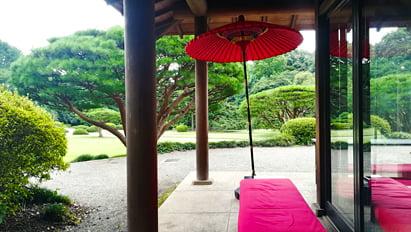 新宿御苑 茶屋