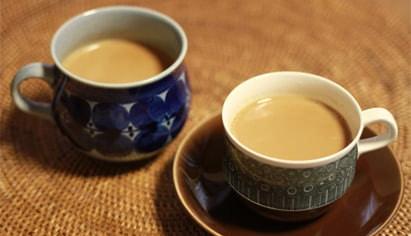 お茶とミルク