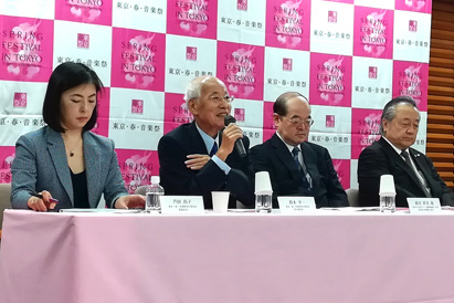 東京・春・音楽祭2020 概要発表会
