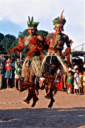 アマゾンのインディオ、カラジャ族