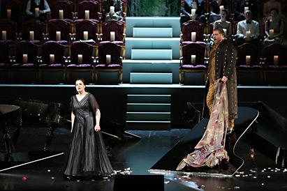 ウィーン国立歌劇場 シュトラウス「ナクソス島のアリアドネ」