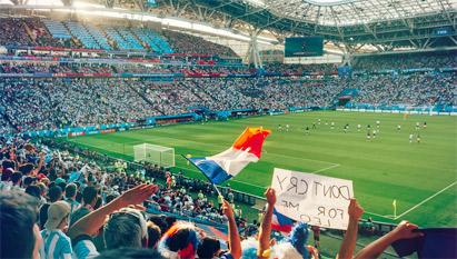 ワールドカップ2018ロシア大会