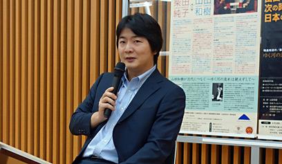 山田和樹「柴田南雄没後20年記念演奏会」記者懇談会